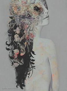 Leslie Ann O'Dell é uma artista visual conhecido pela foto-ilustração em seu trabalho.