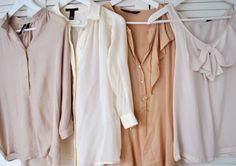 soft hue blouses