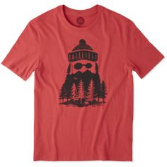 Men's Outdoor Beard Smooth Tee | Life is Good® Official Site