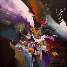 "Saatchi Art Artist Jonas Gerard; Painting, ""In Bloom #83"" #art"