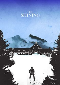 The Shining (1980) - Minimal Movie Poster by Mainger #minimalmovieposter #alternativemovieposter #mainger
