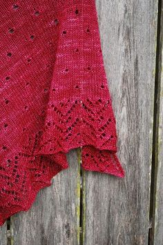 Raindrops on Roses by IrishGirlieKnits by JackiesStitches, via Flickr
