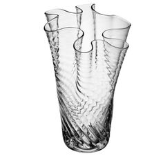 Discover the LSA Orietta Clear Optic Vase - 25cm at Amara