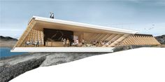 Gallery of Dorte Mandrup Arkitekter Selected to Design Viewing Pavilion at Greenland's Icefjord - 7