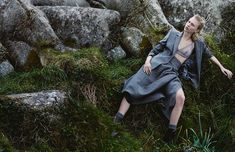Juliana Schurig Wears Androgynous Style for Emma Tempest in Vogue Russia Spread