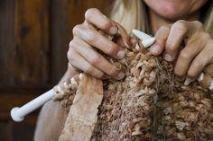 Expressions Of Love - Kim SchoenbergerKim Schoenberger Textile Sculpture, Textile Fiber Art, Textile Artists, Coffee Filter Art, Coffee Filters, Mix Media, Textiles, Tea Bag Art, T Art
