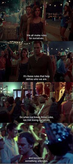 Dexter- last scene, season 7