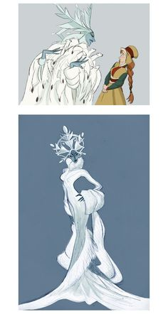 Early Frozen Concept Art