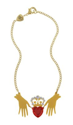 Tatty Devine Claddagh Necklace | Trashy Diva