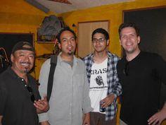 Tio, Rod, and Erik from Katapillar & Sean Kelly