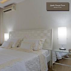 Cabeceiras protegem, decoram e evitam o contato direto com a parede gelada. Além de incrementarem a decoração do quarto.