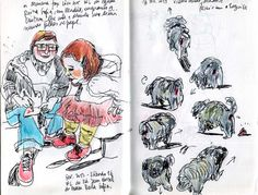 RICHARD CÂMARA: Sketchbook work