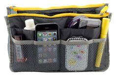 Organisateur de sac - Gris Achetez en ligne et payez à la livraison. Livraison rapide sur toute la Tunisie! http://www.misha.tn/organisateurs-de-sac-a-main/48-organisateur-de-sac-gris.html