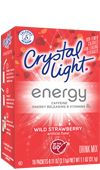 Crystal Light Energy: Wild Strawberry