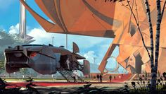 """Syd Mead Contest Entry - Danny Gardner ****If you're looking for more Sci Fi, Look out for Nathan Walsh's Dark Science Fiction Novel """"Pursuit of the Zodiacs."""" Launching Soon! PursuitoftheZodiacs.com****"""