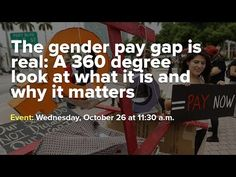 The gender pay gap is real: A 360 degree look at what it is and why it matters | Economic Policy Institute