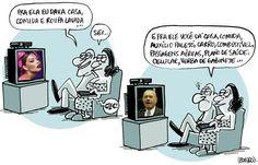 Brasil-José Sarney-2012-Charge-Sarney-Charge do Leonardo