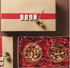 Décoration de la boite Noel