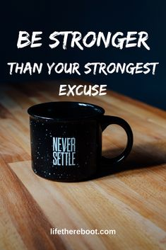 Be stronger than your strongest excuse...  #mondaymotivation #getitdone #keepitmoving #selfconfidence #strength