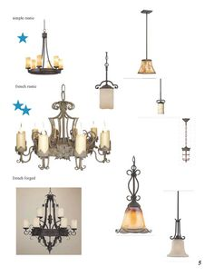 French Country Lighting Selects 5