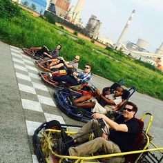 Company Go-Kart outing