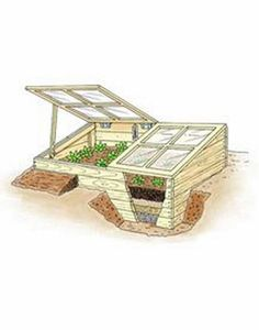 Cold Frame plans and usage Cold Frame Gardening, Greenhouse Gardening, Container Gardening, Outdoor Projects, Garden Projects, Farm Gardens, Outdoor Gardens, Dream Garden, Home And Garden