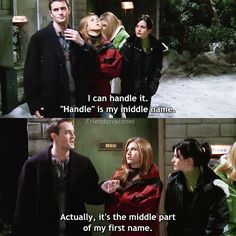 """#FRIENDS #Chandler 