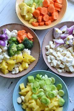 Fruit Salad, Cobb Salad, Baby Food Recipes, Cookie Recipes, Good Food, Yummy Food, Healthy Diet Tips, Hummus, Food And Drink