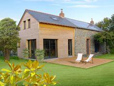 1000 images about maison bois on pinterest bbc summer - Maison bois et pierre ...