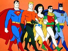 Superfriends was one of my favorite Saturday morning cartoons. Cartoon Cartoon, Cartoon Photo, Cartoon Characters, Cartoon Crazy, Dc Comics, Comics Und Cartoons, Old School Cartoons, 1970s Cartoons, Hanna Barbera