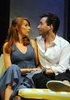 David with Catherine Tate as Benedick and Beatrice in 'Much Ado About Nothing' - July 2011.
