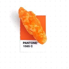 "7,601 Likes, 195 Comments - PANTONE (@pantone) on Instagram: ""Pantone 1585 color match to @cheetos. They are so good that you don't care the powdery cheese is…"""