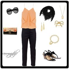summer date night, created by sammyzstyle on Polyvore