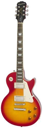 Epiphone Les Paul Standard Plus Top Pro Solid Body Electric Guitar, Heritage Cherry Sunburst Finish