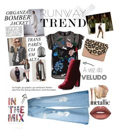 """""""The New Chic 2017"""" by belzinhac on Polyvore featuring Markus Lupfer, Steve J & Yoni P, Dorothy Perkins, Dune and Lime Crime"""