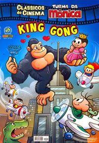Lyon Comics: Turma da Mônica em paródia de King Kong