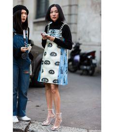 Street looks à la fashion week automne-hiver 2016-2017 de Milan   Vogue