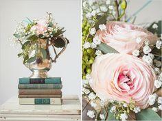 vintage wedding ideas  / Styling by Little Vintage Rentals