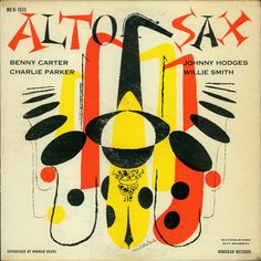 Illustrator David Stone Martin was one of the most prolific and influential graphic designers of the postwar era, creating over 400 album covers. Much of his work spotlighted jazz, with his signature hand-drawn, calligraphic line perfectly capturing the energy and spontaneity of the idiom.