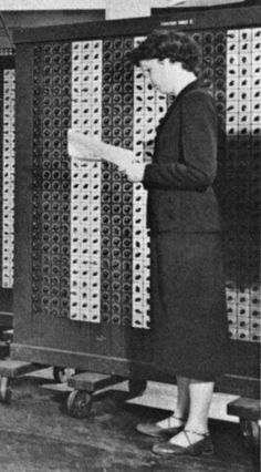 Happy Birthday Frances Elizabeth Holberton (March 1917 – December was one of the six original programmers of the first general-purpose electronic digital computer, Holberton invented breakpoints in computer debugging. My English Teacher, Great Women, Inspire Me, Growing Up, Happy Birthday, Politics, March 7, France, Education