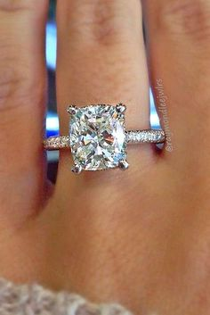 Utterly Gorgeous Engagement Ring Ideas ❤️ See more: http://www.weddingforward.com/engagement-ring-inspiration/ #weddings