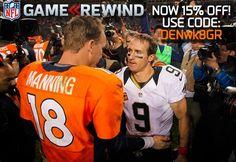 Payton Manning & Drew Brees