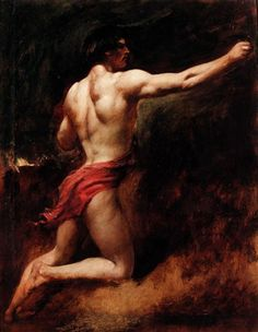 A Male Athlete by William Etty