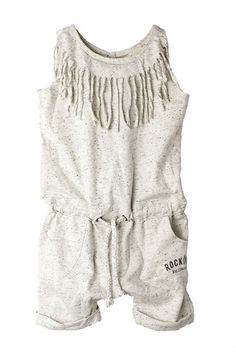 Girls Fringe Playsuit  - RAINE Rocking Ballerina's