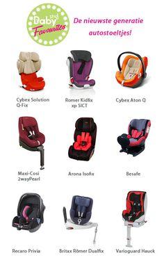 BabyStuf Favourites: de nieuwste autostoelen