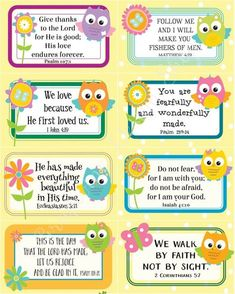 ABC Bible Verses for Children {free printable!} | Homeschooling