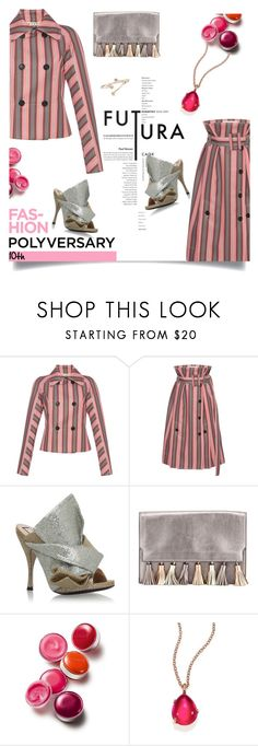 """Celebrate Our 10th Polyversary!"" by craftsperson ❤ liked on Polyvore featuring Marni, N°21, Rebecca Minkoff, Clinique, Pomellato, polyversary, contestentry and 36"