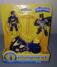 Imaginext DC Super Friends BATGIRL & Cycle New | Toys & Hobbies, Preschool Toys & Pretend Play, Fisher-Price | eBay!
