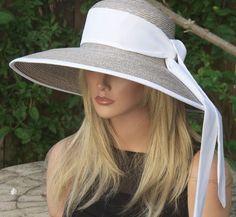 Wide Brim Hat Kentucky Derby Hat Wedding Hat Audrey by AwardDesign - 130: