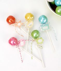 How to Make Gumball Lollipops